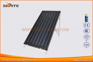 Solar Flat Plate with Blue Film Coating
